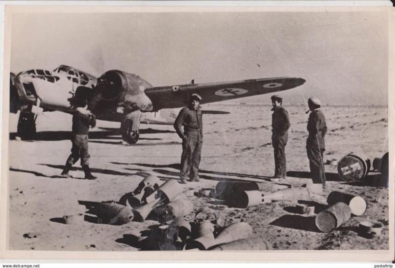 Libye KOUFRA Avion110