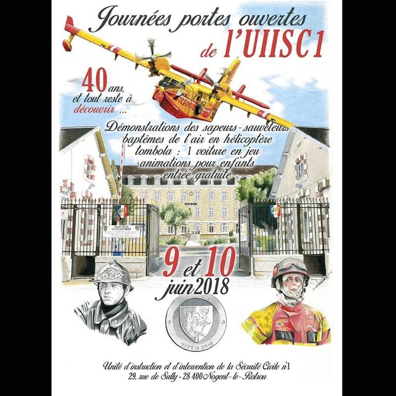 Portes ouvertes 09-10/06/18 sécurite civile-Nogent le Rotrou Securi10