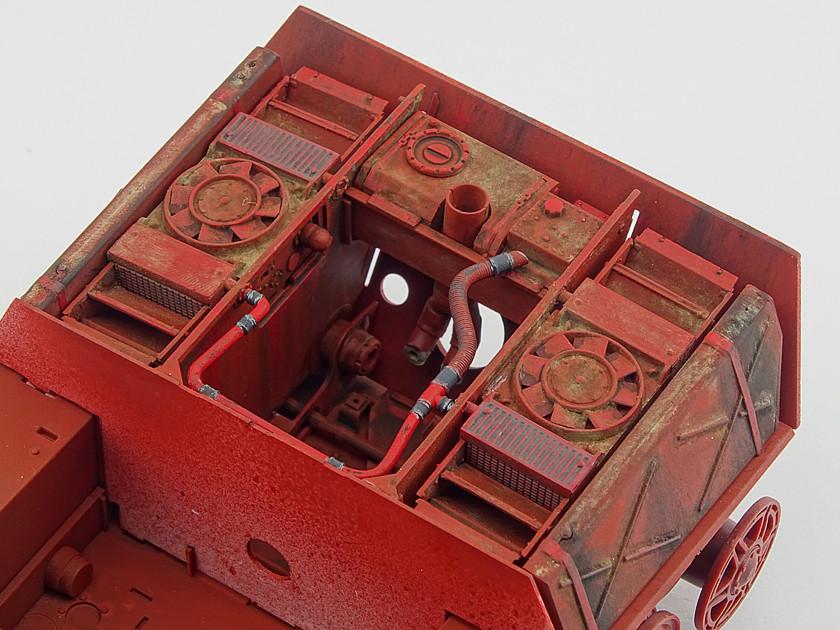 Sd.Kfz. 182 King Tiger (turret Henschel) MENG 1/35° + Full interior et Zim MENG + P.E Eduard + tube Aber [Terminé] King_t26