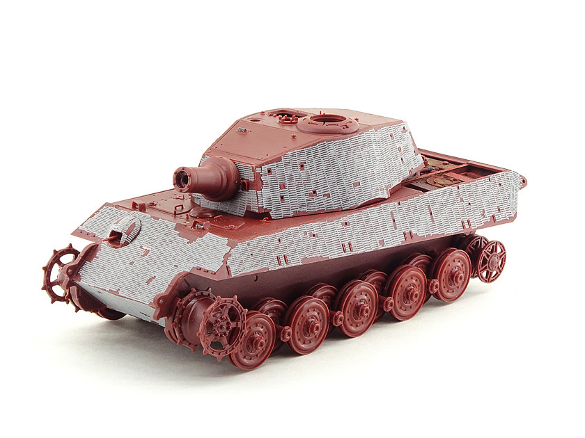 Sd.Kfz. 182 King Tiger (turret Henschel) MENG 1/35° + Full interior et Zim MENG + P.E Eduard + tube Aber [Terminé] King_t44
