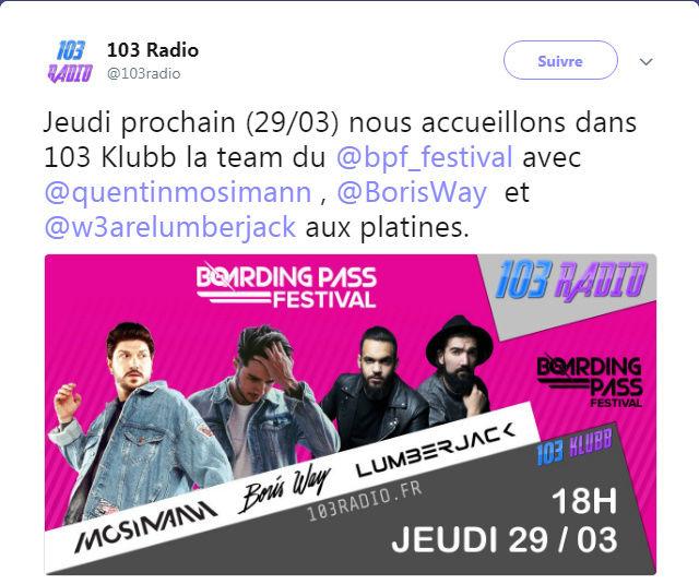 [29/03/2018-19h00] 103 Radio - 103 Klubb Captur17