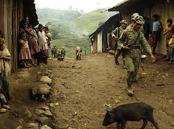 "Guatemalan ""Noodle"" Camouflage Milita10"