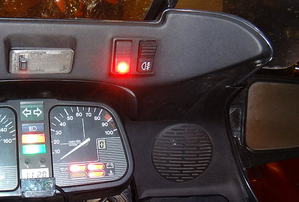 OEM heated grips - how many watts/amps? K1100l11