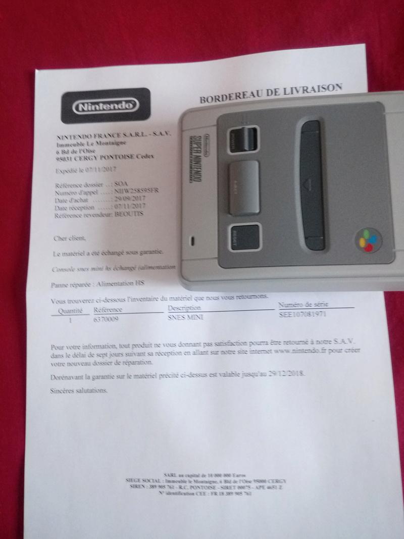 Mini Super Nintendo qui ne s'allume plus... Img_2010