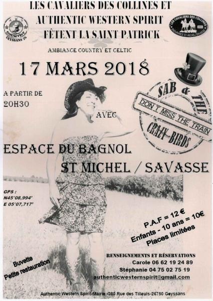Soirée Country à St Michel/S. (17/03/2018) 20180310