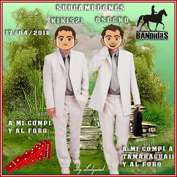 17/04/2018 CAMPEONES SOFIA13133 Y CEROKUL - SUBCAMPEONES KIKI521 Y OSEGNO 17-4-s10