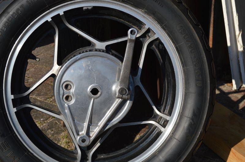 GL 650 Hinterrad Bremse Hinter10
