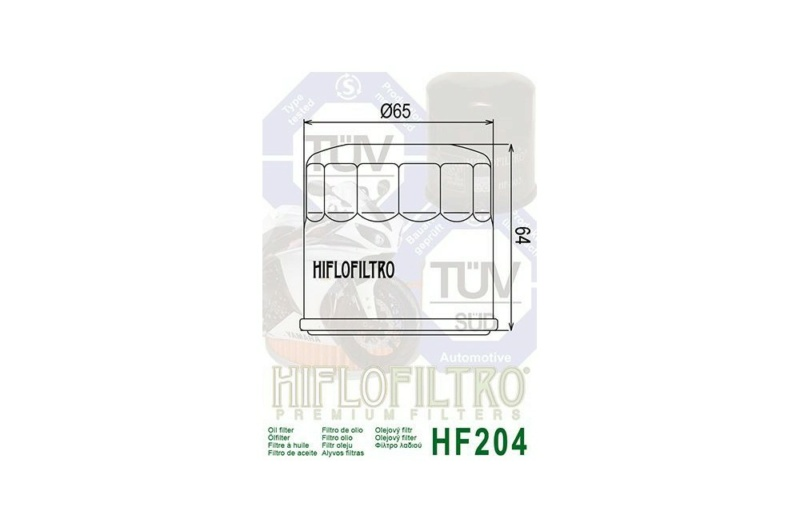800 VN - HF204 ou HF303 Filtre10