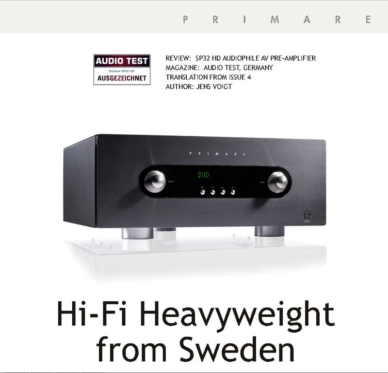 Primare SP32 Audiophile AV Pre-Processor, Pre-Amp, HDMI board Upgraded Version. Sweden (Used) 1_201311