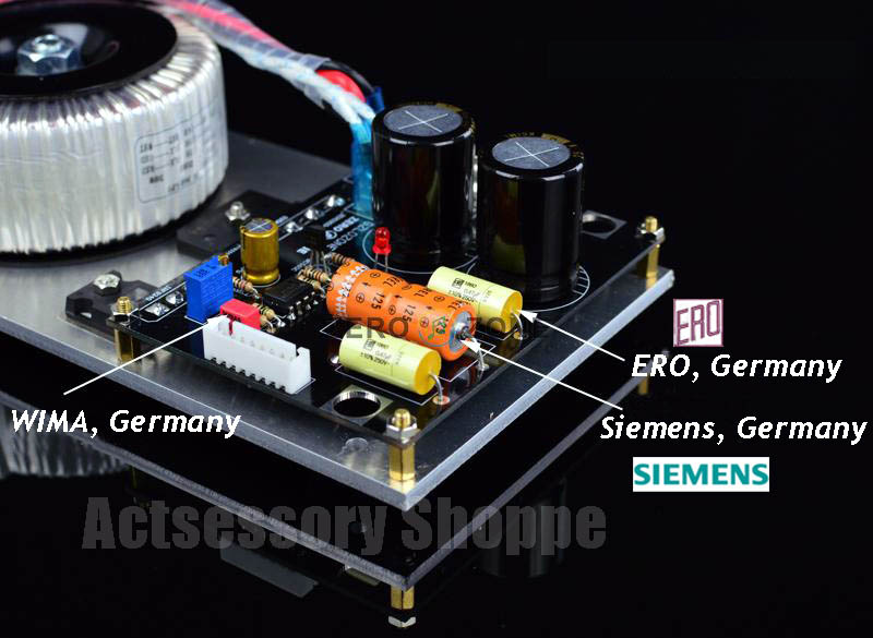 Linear Power Supply module upgrade  for OPPO UDP-203 203_d410