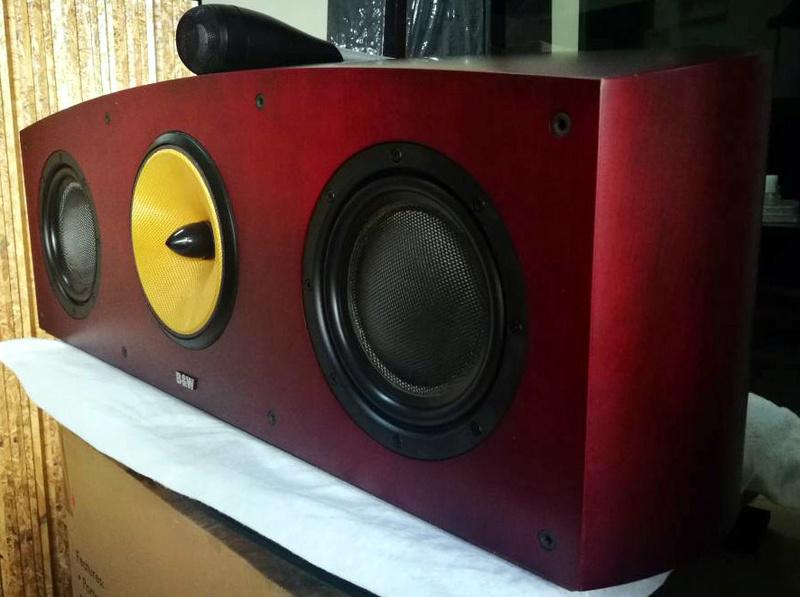 B&W Nautilus™ HTM1 Center Channel 3-Way Loudspeaker System, England Htm1a10
