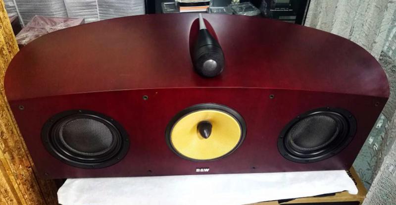 B&W Nautilus™ HTM1 Center Channel 3-Way Loudspeaker System, England Htm1b10