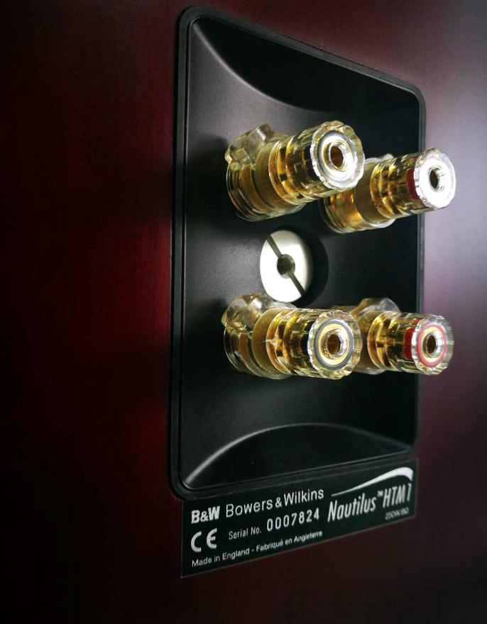 B&W Nautilus™ HTM1 Center Channel 3-Way Loudspeaker System, England Htm1g10