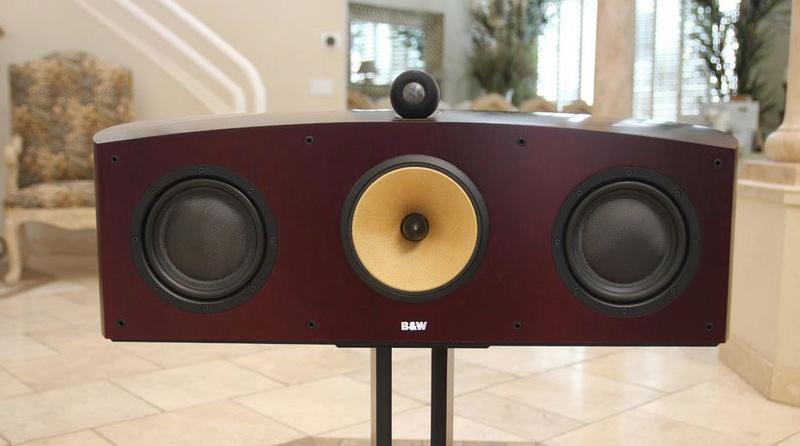B&W Nautilus™ HTM1 Center Channel 3-Way Loudspeaker System, England Htm1j10