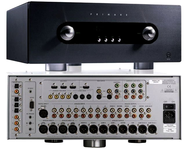 Primare SP32 Audiophile AV Pre-Processor, Pre-Amp, HDMI board Upgraded Version. Sweden (Used) Primar11