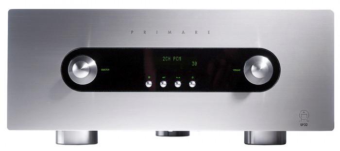 Primare SP32 Audiophile AV Pre-Processor, Pre-Amp w HD Audio Upgrade, Sweden (Display Set) Primar34