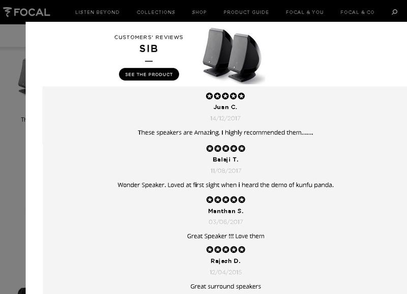 Focal - JM Lab SIB Speakers, 5pcs Sib210