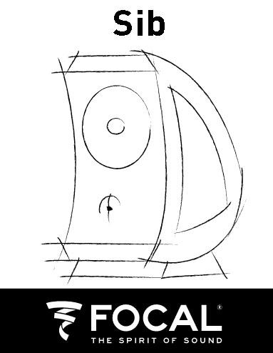 Focal - JM Lab SIB Speakers, 5pcs Sib510