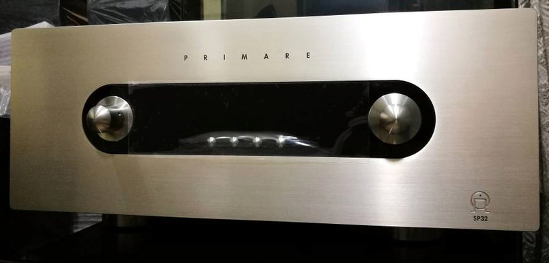 Primare SP32 Audiophile AV Pre-Processor, Pre-Amp w HD Audio Upgrade, Sweden (Display Set) Sp32d10