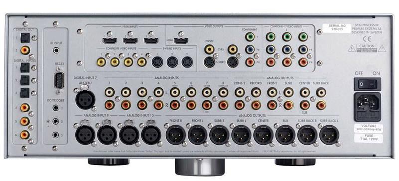 Primare SP32 Audiophile AV Pre-Processor, Pre-Amp w HD Audio Upgrade, Sweden (Display Set) Sp32h10