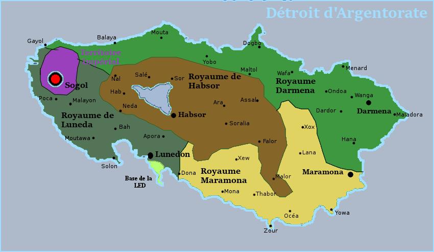 Géographie de l'Empire du Gwangua Carte210
