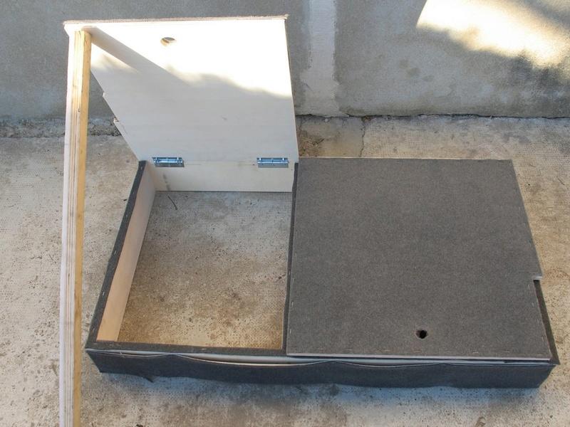 Rangement des câbles : Fabrication d'un double fond de coffre - Page 4 Img_5825
