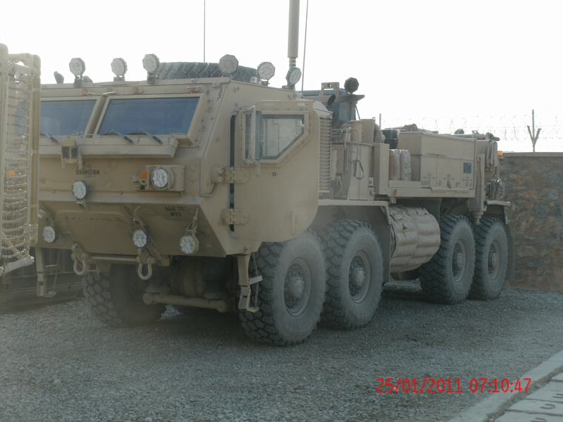 M984 Recovery Vehicle Camion10