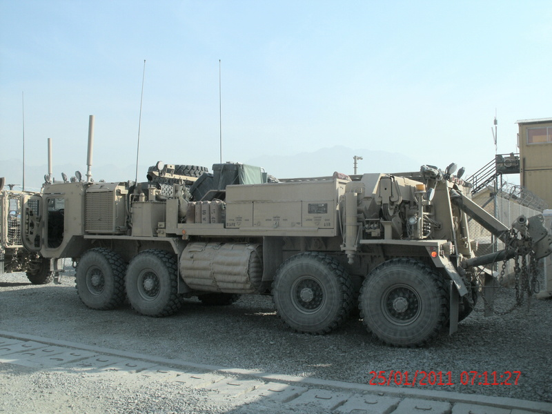 M984 Recovery Vehicle Camion11