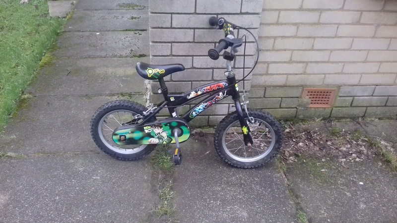 kids bike found on abram park 20180210