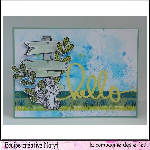 Sketch scrap / carte par Sandrine Sketch10