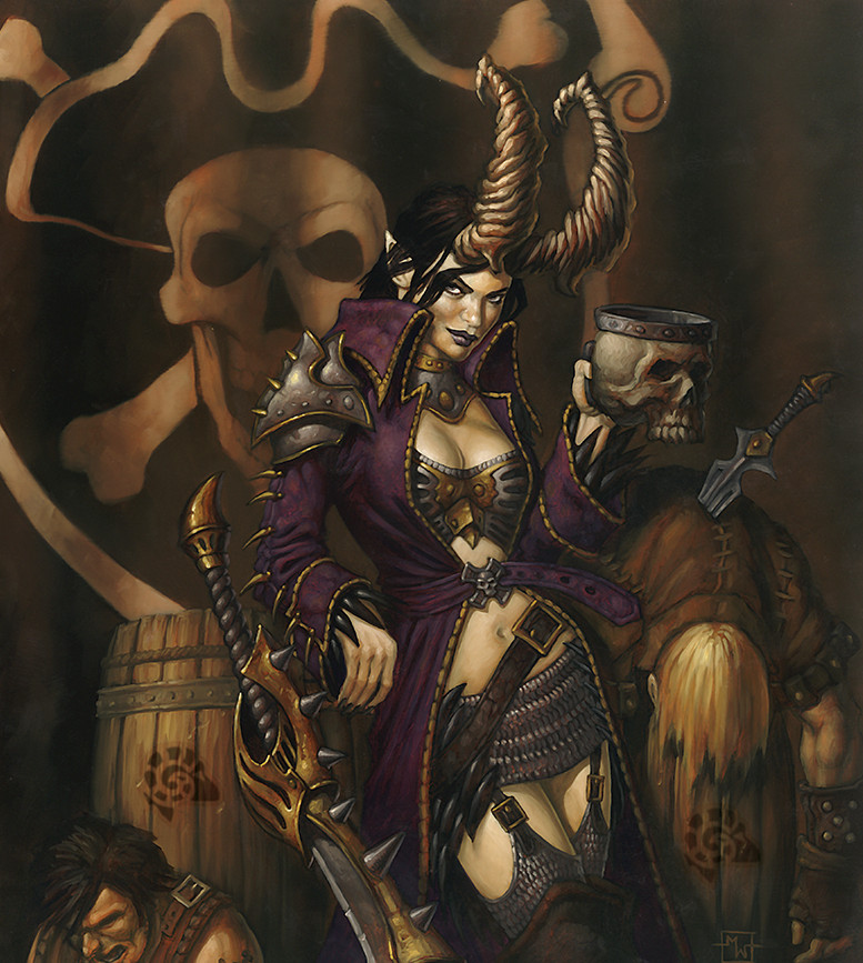 [PNJ] – Skarre, la Reine Pirate de la Côte Brisée, la Femme-Animal Skarre10