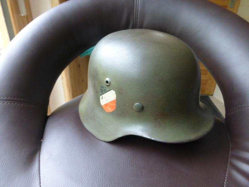 Authentification d'insigne sur un casque modele 35 P1030614