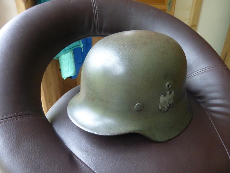 Authentification d'insigne sur un casque modele 35 P1030615