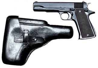 Identification d'un étuis de pistolet B-germ10