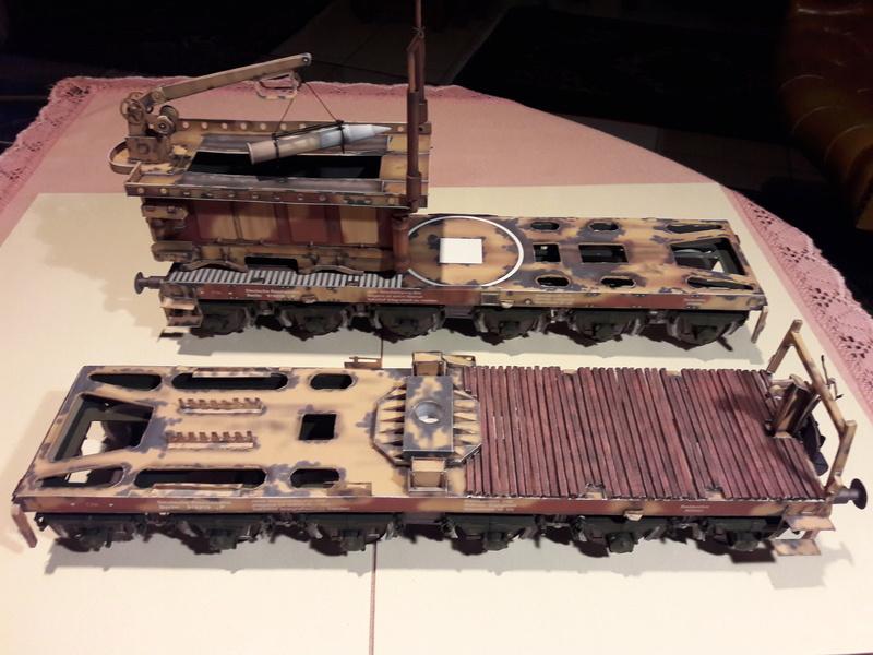 Fertig - Eisenbahngeschütz 'LEOPOLD'  K5(E) gebaut von Holzkopf - Seite 2 20180232