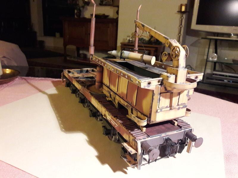 Fertig - Eisenbahngeschütz 'LEOPOLD'  K5(E) gebaut von Holzkopf - Seite 3 20180246