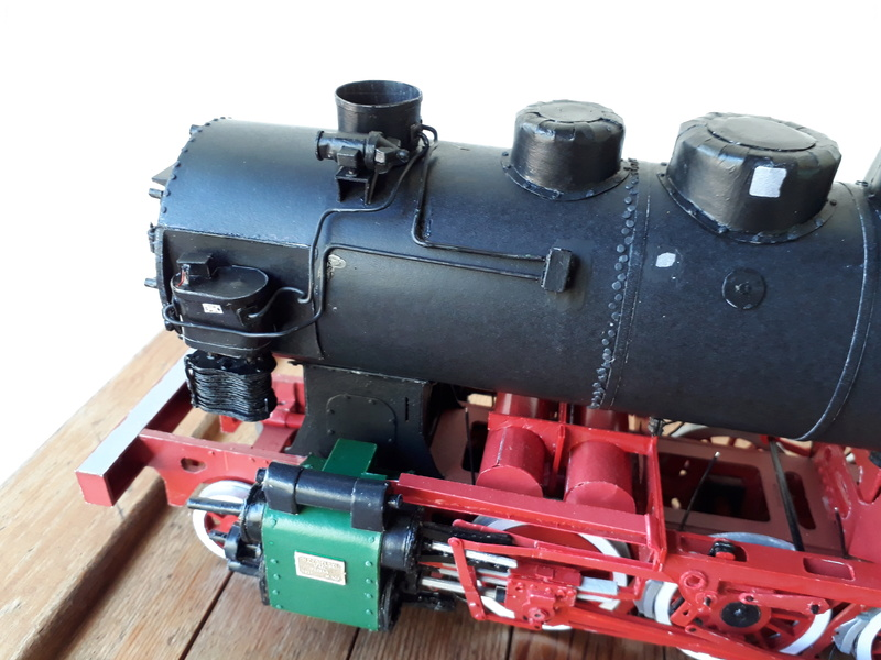 "Fertig - Lokomotive ""BULGAR' -Modelik- geb. von Holzkopf - Seite 3 20180514"