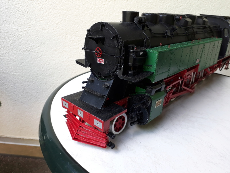 "Fertig - Lokomotive ""BULGAR' -Modelik- geb. von Holzkopf - Seite 4 20180570"