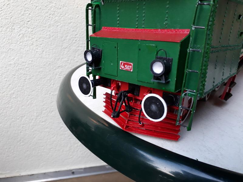 "Fertig - Lokomotive ""BULGAR' -Modelik- geb. von Holzkopf - Seite 4 20180580"