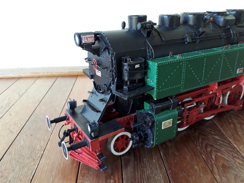 "Fertig - Lokomotive ""BULGAR' -Modelik- geb. von Holzkopf - Seite 4 20180587"