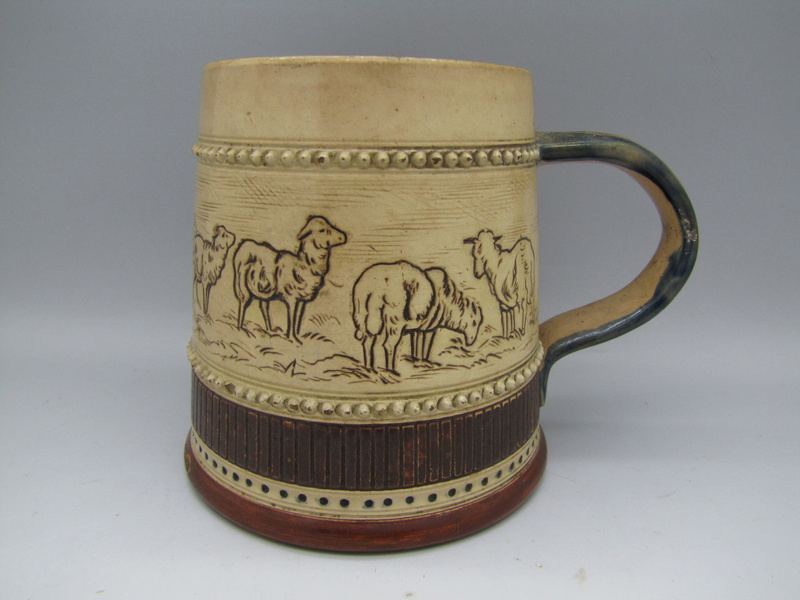 Hannah Barlow type Tankard.. is it or isnt it  ..Unmarked Doulton ????? Img_6210