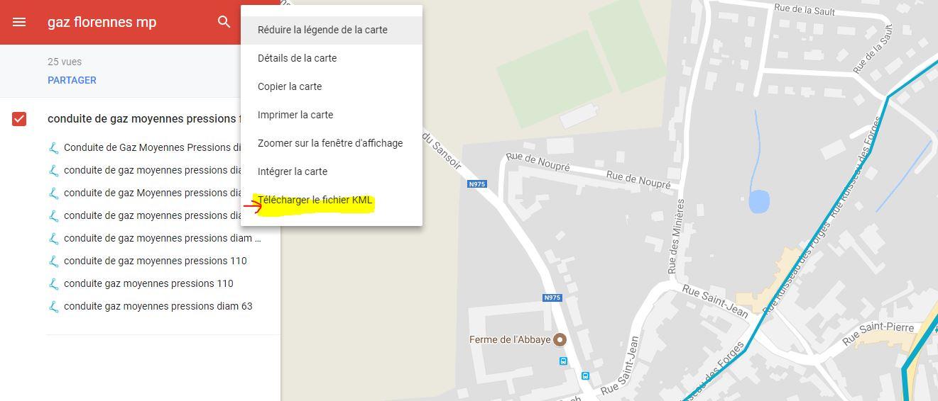 [résolu] My map de google vs GE pro Mica10