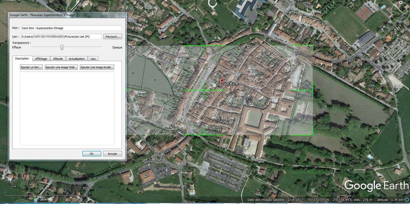 [résolu] Superposer Plans Cadastraux sur GOOGLE EARTH So_cad13