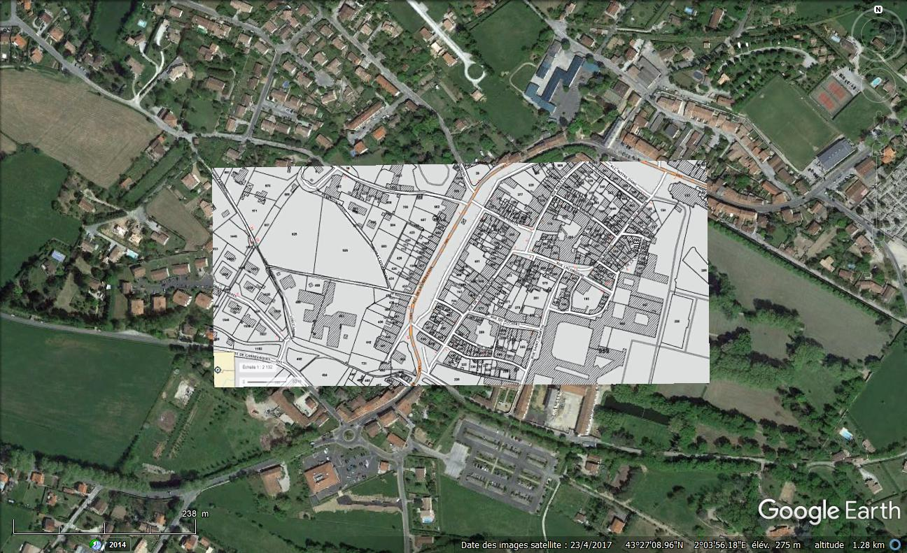 [résolu] Superposer Plans Cadastraux sur GOOGLE EARTH So_cad14
