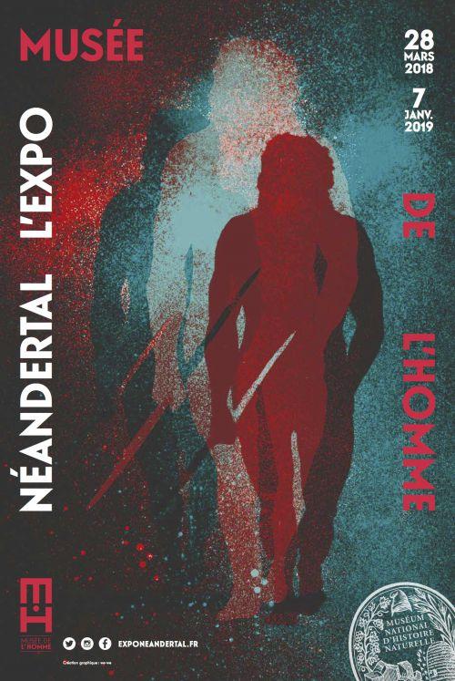 Neandertal, l'expo, au Musée de l'Homme Affich10