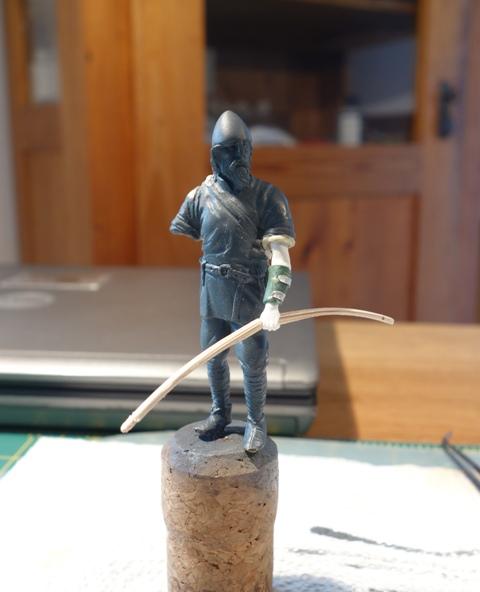 Umbau Wikinger zum Bogenschützen Archer47