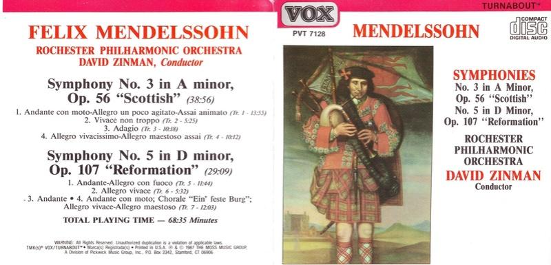 Mendelssohn les symphonies - Page 6 Zinman10