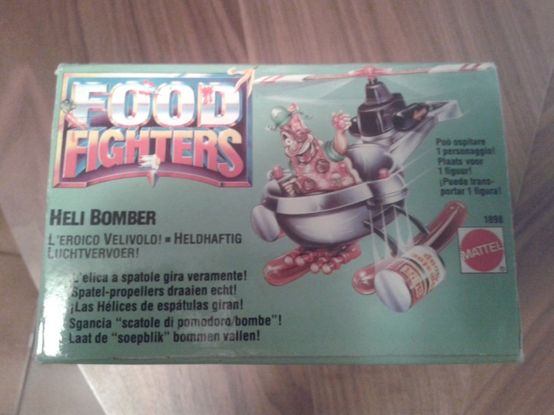 Helibomber food fighters sigillato 20160710