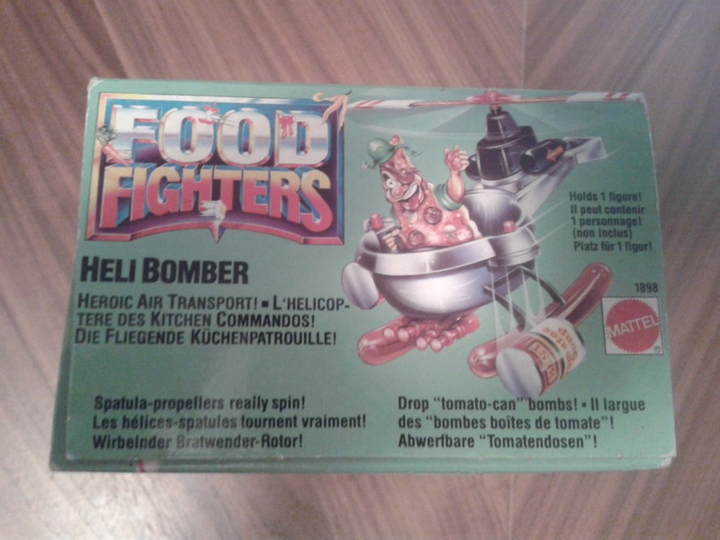 Helibomber food fighters sigillato 20160711
