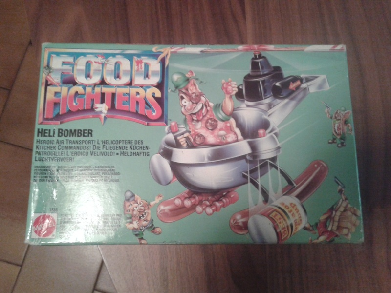Helibomber food fighters sigillato 20160712